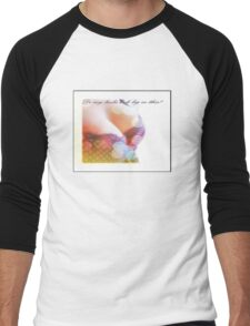 do my boobs look big in this II Men's Baseball ¾ T-Shirt