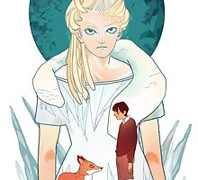 The Witch and the Boy by Maudevan