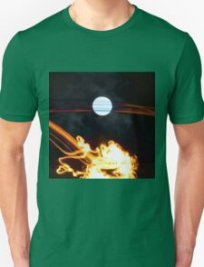 Fire Moon Unisex T-Shirt