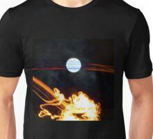 Fire Moon Unisex T-Shirt
