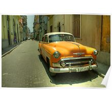Side Street Chevy  Poster