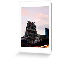 Sri Mariamman Greeting Card