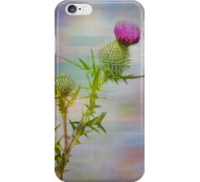 Spear Thistle iPhone Case/Skin