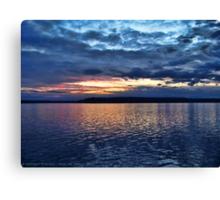 Puget Sound Sunset Canvas Print