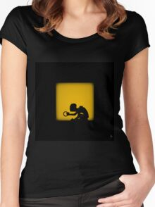 Shadow - My Precious Women's Fitted Scoop T-Shirt