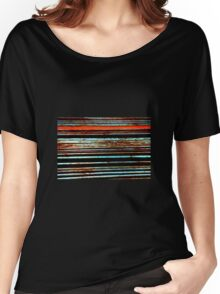 Metalic Stripes 2 Women's Relaxed Fit T-Shirt