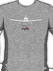 I learned to fly in a Piper T-Shirt
