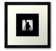 Shadow - The White Framed Print