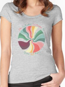 Space And Time Women's Fitted Scoop T-Shirt