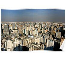 Sao Paulo City Poster