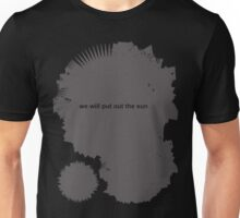 Lucas Darklord - Night 1 - We Will Put Out The Sun - Grey Unisex T-Shirt