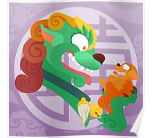 Silly Beasty : The Female Foo Dog Poster