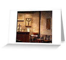The Mary Chapel ~ Holy Trinity, Dubbo  Greeting Card