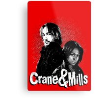 Crane & Mills Metal Print
