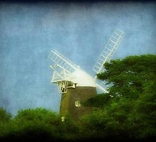 UK-Windmill...Jack ©  by Dawn M. Becker