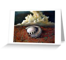Alien landscape Greeting Card
