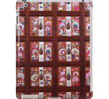 Folk Flower Pattern, Korean Embroidered Chest iPad Case/Skin