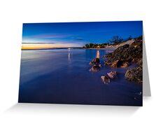 Drummond Cove, Geraldton Greeting Card