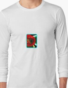 Glowing Hot Peppers  Long Sleeve T-Shirt