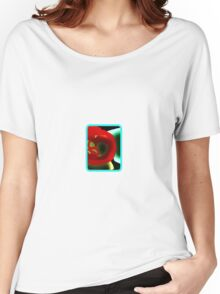 Glowing Hot Peppers  Women's Relaxed Fit T-Shirt