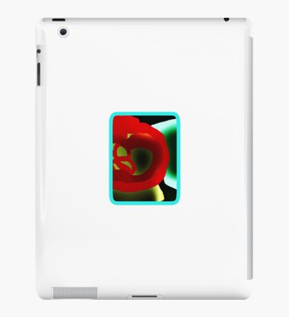 Glowing Hot Peppers  iPad Case/Skin
