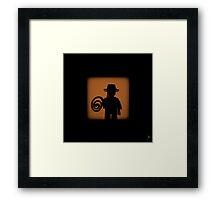 Shadow - Junior Framed Print