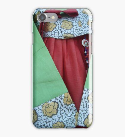 Korean Hanbok Traditional Dress iPhone Case/Skin