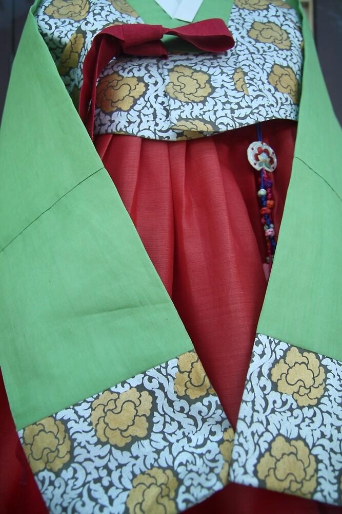 Korean Hanbok Traditional Dress by Jane McDougall