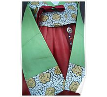 Korean Hanbok Traditional Dress Poster