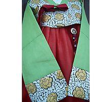 Korean Hanbok Traditional Dress Photographic Print