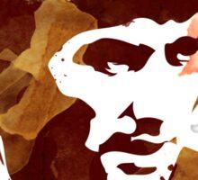 George Best - Coffe stain Sticker