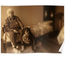 Two Lady Senior citizens  Poster