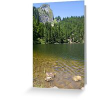 Lake Mönichsee Greeting Card