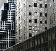 New York Midtown Skyscrapers by Jane McDougall