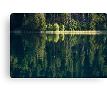 Lake Weissensee Canvas Print