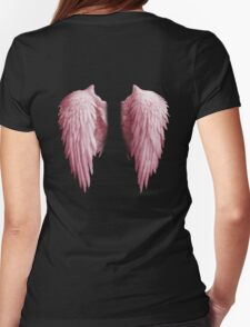 BACKWINGS - Angel Womens Fitted T-Shirt