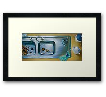 Earl Grey, oil on canvas, 2006. Framed Print