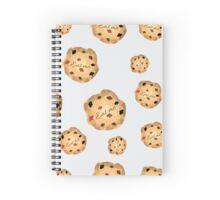 Eat me cookies from Alice in Wonderland Spiral Notebook
