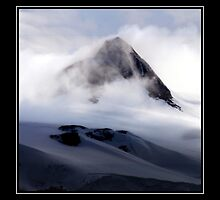 Antarctic Mountain Peak by John Dalkin