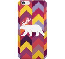 Chevron Bear - Warm iPhone Case/Skin