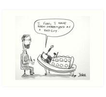 Dalek therapy Art Print
