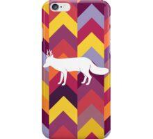 Chevron Fox - Warm iPhone Case/Skin