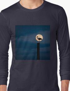 Moon stork Long Sleeve T-Shirt