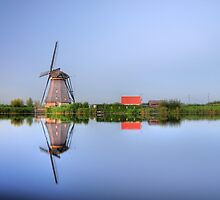 Kinderdijk in HDR by Hans Kool