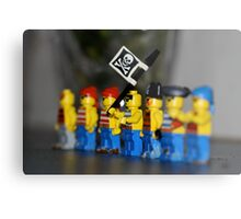 Lego pirates Metal Print