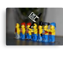 Lego pirates Canvas Print