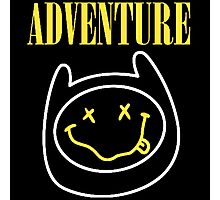 Finn Adventure Time Smile Photographic Print