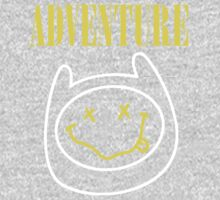 Finn Adventure Time Smile One Piece - Long Sleeve