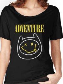 Finn Adventure Time Smile Women's Relaxed Fit T-Shirt