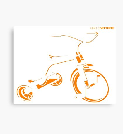 Ugo & Vittore Tricycle Canvas Print